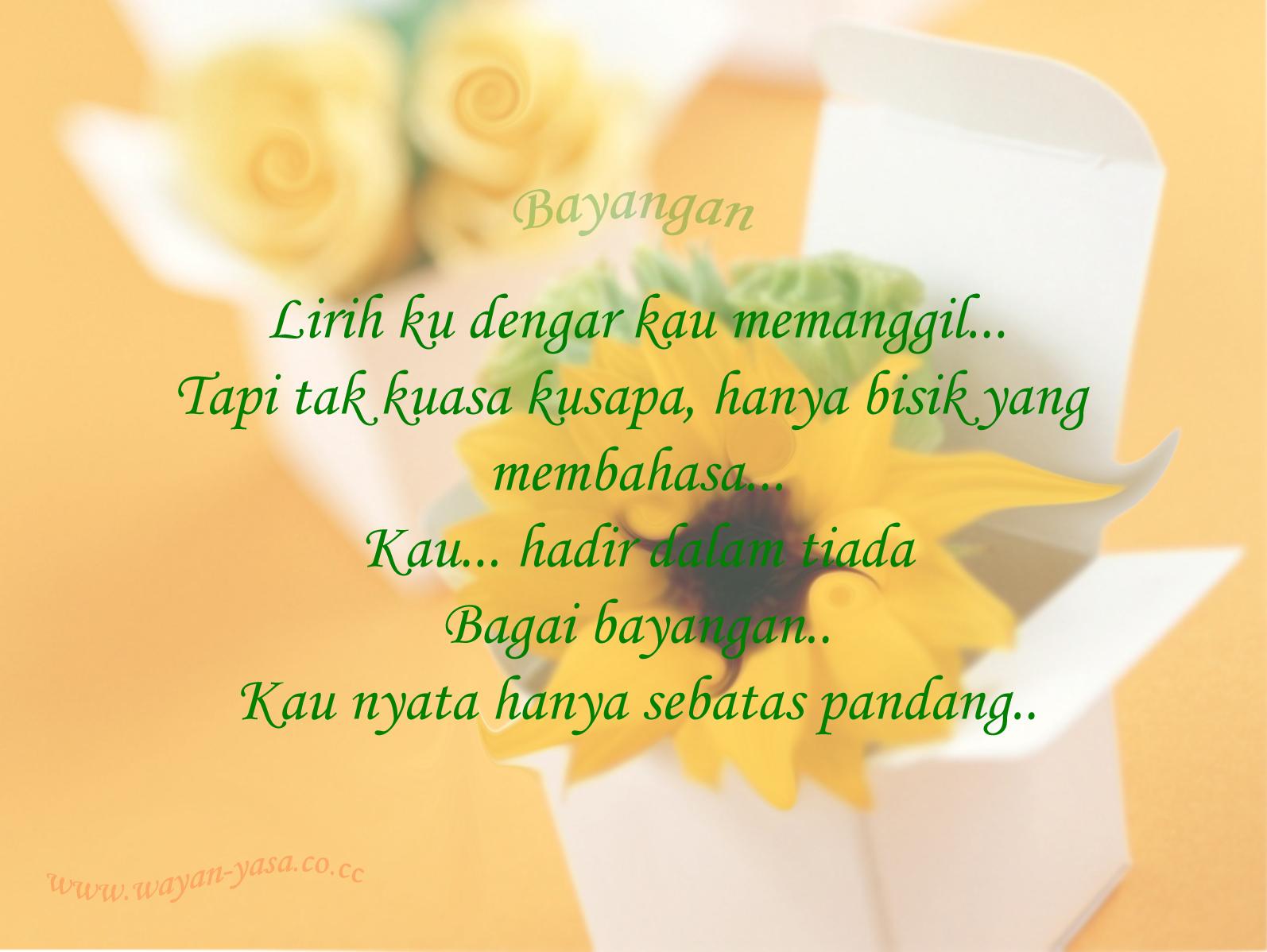 Selamat Datang di Blog Wayan Yasa
